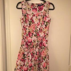EUC Spring Flowers Dress